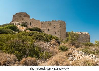 Kritinia Castle, Rhodes island, Greece