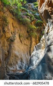 Kritsa Gorge near Agios Nikolaos on Crete, Greece