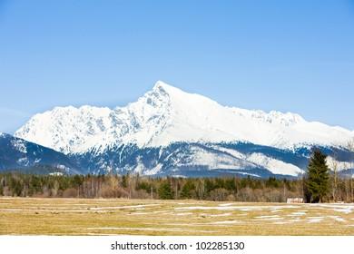 Krivan, Vysoke Tatry (High Tatras), Slovakia