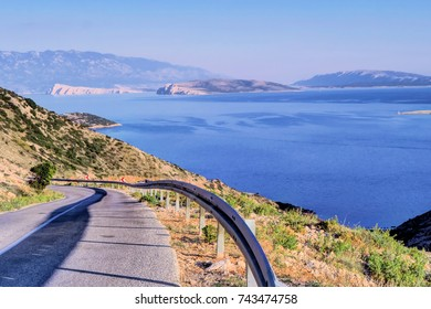 Krk is a large Croatian island in the northern Adriatic Sea, connected to the mainland by a bridge.
