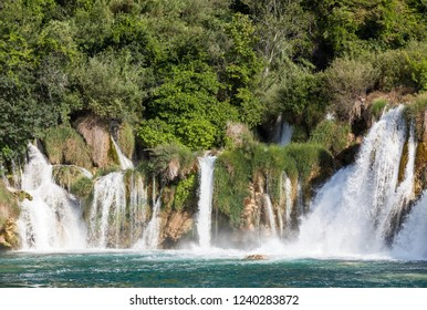 Krka national park waterfalls