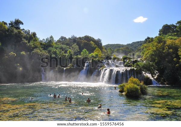 krka-waterfalls-skradinski-buk-national-