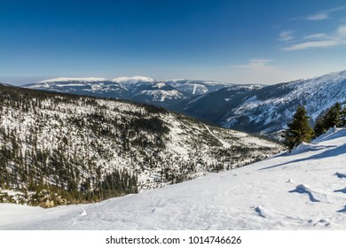 Krkonose (Giant Mountains) In Winter - Czech Republic, Europe
