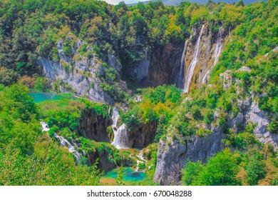 Kroatien Plitvicer Seen