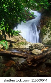 Krok I Dok waterfall in the Forest thailand