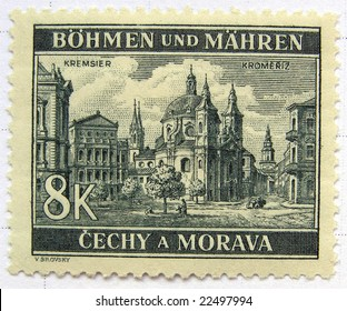 Kromeriz (Czech Republic) mail postage stamps