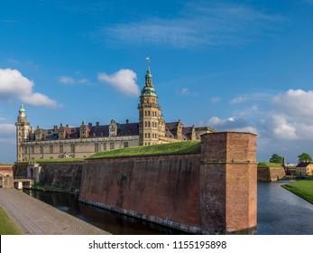 Kronborg castle, Helsingor, Zealand, Danmark, Europe