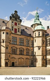Kronborg Castle is a Renaissance castle, built in 1574-1585 by Danish King  Frederik II.