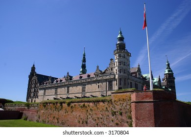 """Kronborg Castle is situated near the town of Elsinore. Kronborg is known by many also as """"Elsinore,"""" the setting for much of William Shakespeare's famous tragedy Hamlet, Prince of Denmark."""