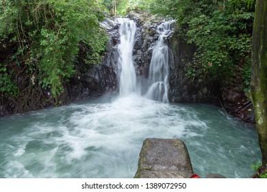 Kroya waterfall Bali Sambangan Secret garden