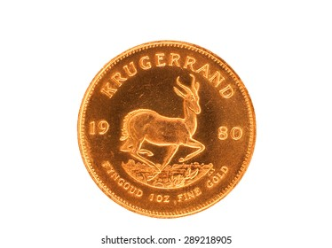 Krugerrand gold coin from South Africa