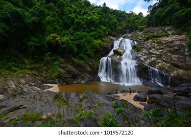 Krung Ching waterfall National Park Nakhon Si Thammarat, Thailand.