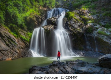 Krungshing Waterfall Khao Luang National Park, Nakhon si thammarat Thailand