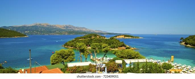Ksamil sea in Albania