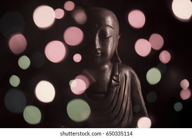 Ksitigarbha sculpture
