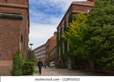 KTH Royal Institute of Technology, Stockholm, Sweden - 20 Jun 2018: It is a university that specialized in Engineering and Technology.