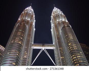 KUALA LUMPHUR PETRONAS TWIN TOWER April 15 Malaysia  Capital city landmark