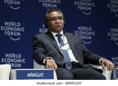 KUALA LUMPUR, 01 JUNE 2016 - Prime Minister of Timor-Leste, Rui Maria de Araujo, at the World Economic Forum (WEF) ranked ASEAN 2016.