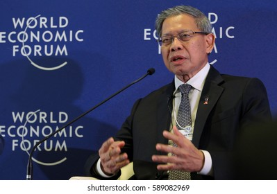 KUALA LUMPUR, 02 JUNE 2016 - The Minister of International Trade and Industry Datuk Seri Mustapa Mohamed, during a press conference at the World Economic Forum (WEF) ranked ASEAN 2016.