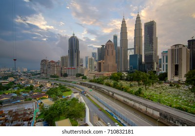 KUALA LUMPUR - 03 SEPTEMBER 2017 : Kuala Lumpur is the capital and the largest city of Malaysia.