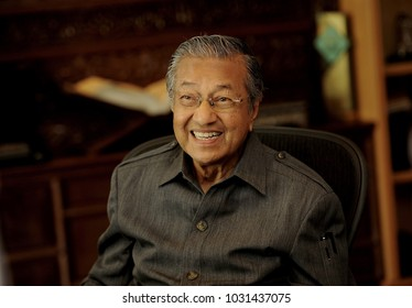 KUALA LUMPUR, 23/02/2017, Former Prime Minister of Malaysia Tun Dr Mahathir Mohamad during an interview in Kuala Lumpur.