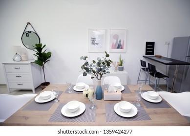 KUALA LUMPUR 26 MARCH 2019. Decorative interior decoration.