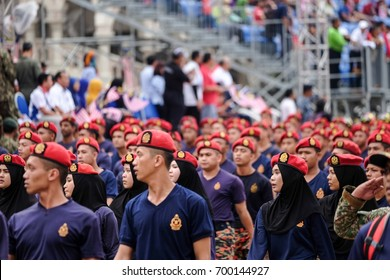 Kuala Lumpur. 28th August 2016 : Merdeka Day celebration is one colourful event which is held annually in commemoration of Malaysia's Independence Day at Dataran Merdeka, Kuala Lumpur