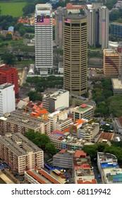 The Kuala Lumpur city skyline