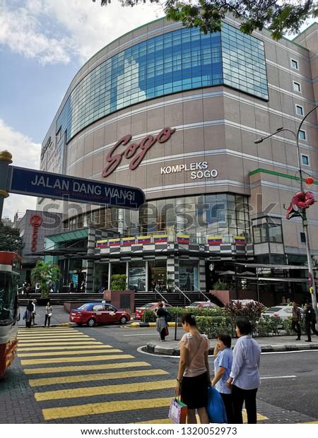 Kuala Lumpur Feb 21 2019 Sogo Stock Photo (Edit Now) 1320052973