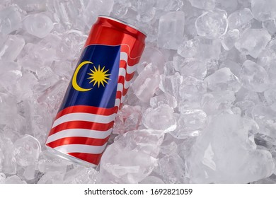 KUALA LUMPUR - FEBRUARY 8: Close up of Coca Cola Malaysia limited edition can, a new innovation of Coca Cola.