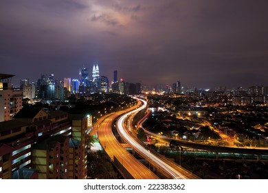 Kuala Lumpur KLCC skyline cityscape