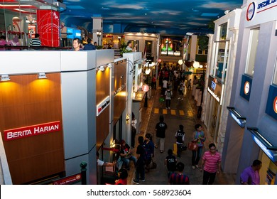 Kuala Lumpur, Kota Damansara - MARCH 31, 2012: Kidzania - a worldwide network of educational parks where children playfully get real jobs skills. For editorial use only.