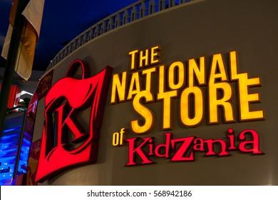 Kuala Lumpur, Kota Damansara - MARCH 31, 2012: Kidzania - a worldwide network of educational parks where children playfully get real jobs skills.