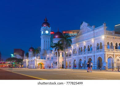 KUALA LUMPUR, MALAYSIA - 1 FEB 2015: Sultan Abdul Samad Building is popular historic attraction and landmark.