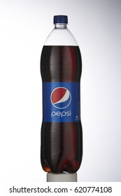 Kuala Lumpur, Malaysia- 10 april 2017,Pepsi is a carbonated soft drink produced and manufactured by PepsiCo Inc. an American multinational food and beverage company