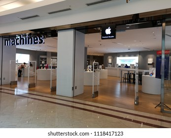 Kuala Lumpur, Malaysia - 17 June 2018: Apple has 363 stores worldwide, people visiting the Apple Store for the new release product and the service center to repair their apple product.