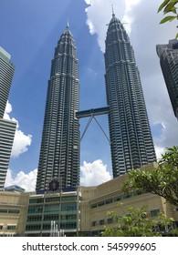 Kuala Lumpur, Malaysia - 1st August 2016: Skyline of modern and beautiful Kulala Lumpur Malaysia