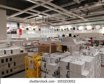 KUALA LUMPUR, MALAYSIA - 24 March 2018, IKEA CHERAS one of the Biggest Shopping Mall in Malaysia