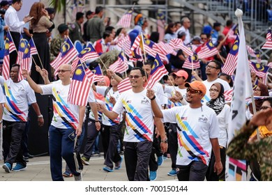 Kuala Lumpur, Malaysia - 28th August 2016 : Merdeka Day celebration is one of the most colorful event and is held in commemoration of Malaysia's Independence Day at Dataran Merdeka annually