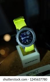 Kuala Lumpur, Malaysia 30 November 2018 : Garmin Malaysia launched its latest sport smart watch with rugged and tough design, Garmin Instinct.