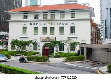 KUALA LUMPUR, MALAYSIA - 31 OCT 2014: The Telekom Museum building