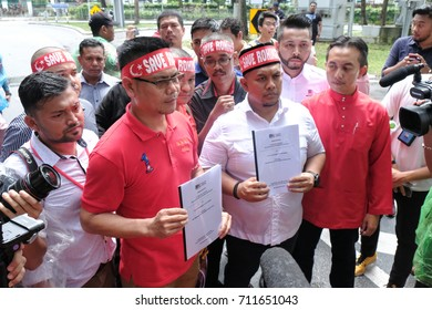 Kuala Lumpur, Malaysia - 8/9/2017 : A coalition of Non-Government Organisation submitted a memorandum to the Myanmar embassy calling for its government to cease the persecution of the Rohingya people