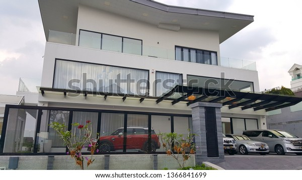 Kuala Lumpur Malaysia Apr 12 2019 Buildings Landmarks Stock Image 1366841699