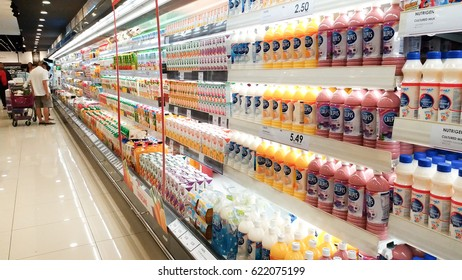 Dairy Section