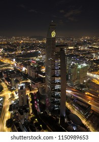 Kuala Lumpur Malaysia. April 25 2018. Aerial view of Telekom Tower. Telekom Tower tranform to Avenger's Stark. It is part of calloboration between Marvel Malaysia with TM