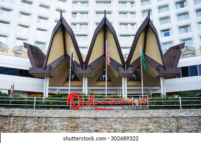 Kuala Lumpur, Malaysia - Aug 1, 2015 : Genting Highland was famous place in Malaysia, full of entertainment, include casino, theme park, hotel, travel, founder by Mr.Lim Goh Tong.