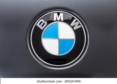 KUALA LUMPUR, MALAYSIA - August 12, 2017: BMW or Bayerische Motoren Werke AG, is a leading German luxury vehicle, sports car, motorcycle, and engine manufacturing company.