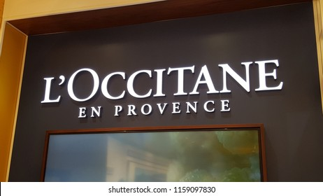 Kuala Lumpur / Malaysia - August 19 2018:  Loccitane Store in Midvalley Shopping Complex