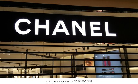 Kuala Lumpur   Malaysia - August 20 2018  Chanel store in a mall. Chanel bf4ca1c84