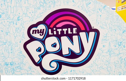 KUALA LUMPUR, MALAYSIA - AUGUST 25, 2018: My Little Pony, is magic is a children's animated fantasy television series
